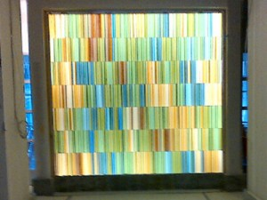 Art Wall at Fallsgrove Executive Office Client: Lerner Enterprises Image Credit: HITT Contracting, Inc.