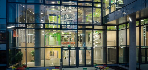 Architectural Record features LED lighting at new University of Baltimore Law Center